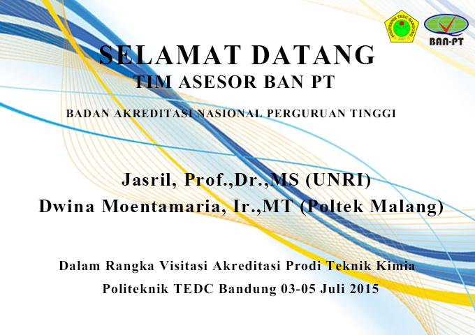 Akreditasi Kimia Oleh BAN PT