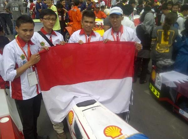 CIMAHI 2 TEDC Wakili Indonesia di Shell Eco Marathon Asia