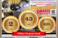 GRATIS PENDAFTARAN Penerimaan Mahasiswa Baru 2020-2021